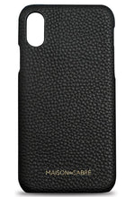 iphone xr phone case- black- front
