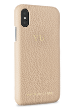 iphone x/xs phone case- nude- perspective
