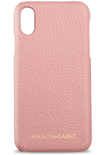 iphone xr phone case- pink- front