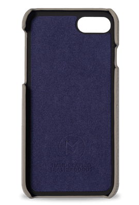 iphone 7/8 phone case- grey- inside