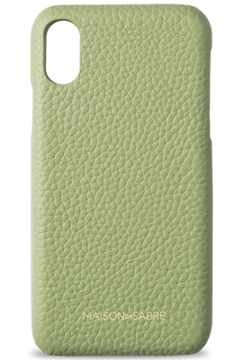 iphone xs max phone case- matcha- front
