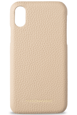 iphone xs max phone case- nude- front