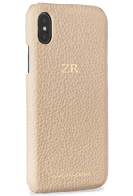 iphone xs max phone case- nude- perspective