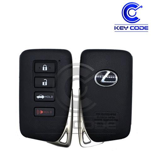 "LEXUS IS RC Series 2014 - 2017 Smart Key 4-Btns (Board ""AG"" - 2020) / HYQ14FBA - Key Code USA"