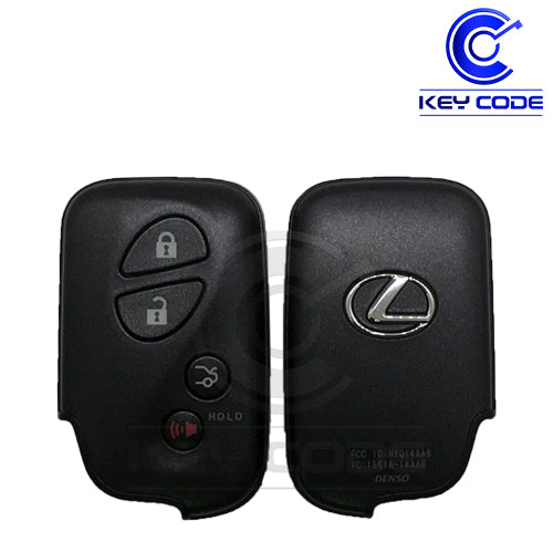 LEXUS ES GS IS LS Series 2005-2008 Smart Key 4-Btns (Trunk - Board 0140 ) / HYQ14AAB