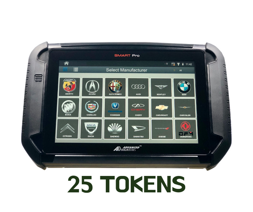 60% OFF any token package / 25 TOKENS /*ONLY WHEN YOU DO THE TRADE UP OF YOUR OLD MACHINE*