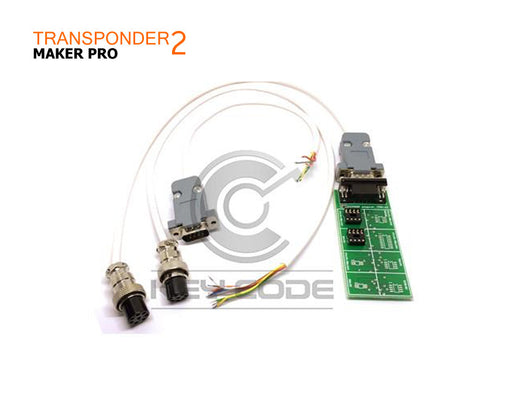 TRANSPONDER MAKER PRO 2 CABLES KIT - TMPRO