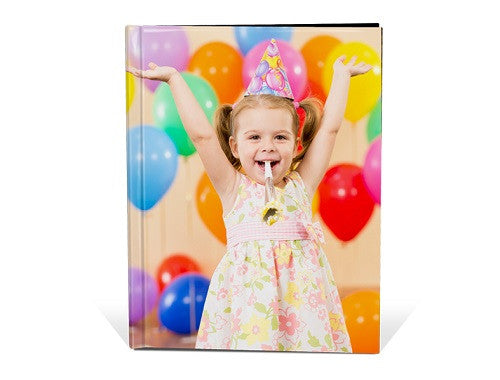 "11x8"" Portrait Personalised Hard Cover Book"