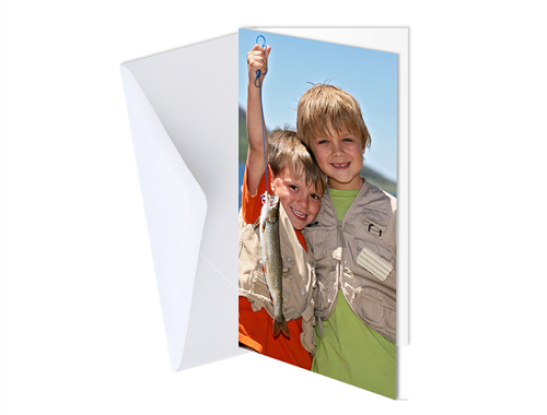 "4 x 8"" Double Sided Card (Single)"