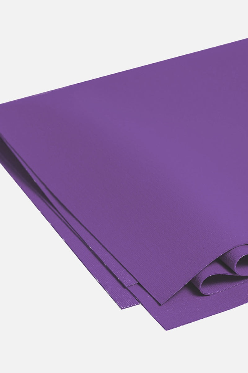 SEA YOGI Intuition Superlite Yoga Mat from Manduka - folded zoomed in - purple - Online Yoga shop from Europe