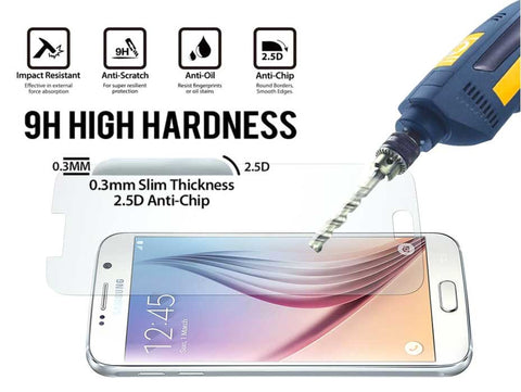 Premium Tempered Glass Screen Cover Guardian for Samsung Galaxy A7 (2016)