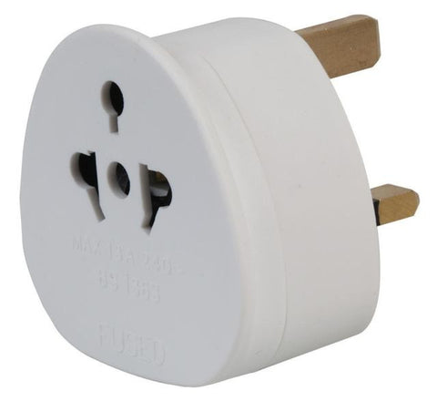 EuroSonic UK Tourist Adaptor Conforms to BS5733