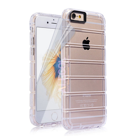 iPhone 6 TPU Case Ladder Design DEIM for Apple iPhone 6s (4.7) Soft Gel Case Silicone Back Cover Free Screen Protector Included