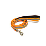 Reflective Orange Leash with padded handle