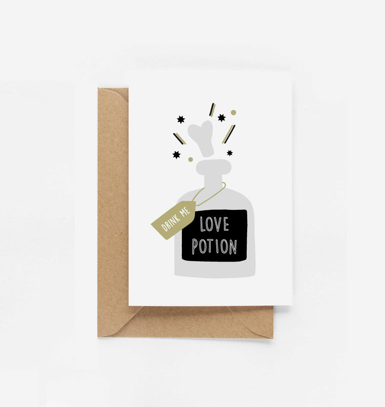 Love Potion Card