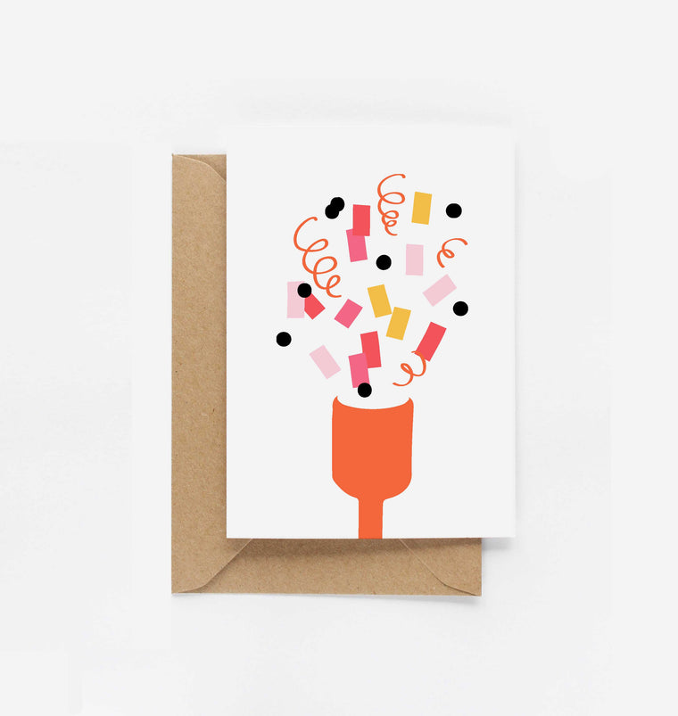 Party Popper Card