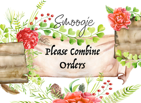 Combine Orders *READ INSTRUCTIONS IN LISTING*