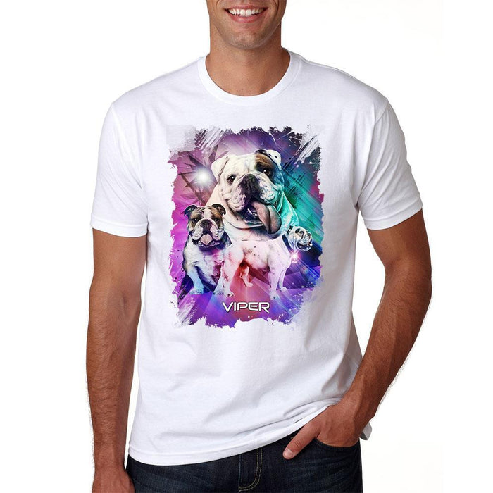 Viper - English Bulldog - Starlight Series - Shirt - Design 30