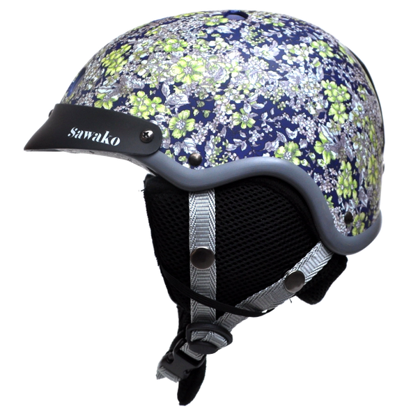 Floral Midnight Blue Ski