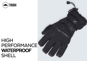 Double Black Ski Gloves