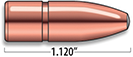 A-Frame Heavy Rifle Bullets Cal. 9.3MM | 250 gr