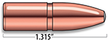 A-Frame Heavy Rifle Bullets Cal. 9.3MM | 286 gr