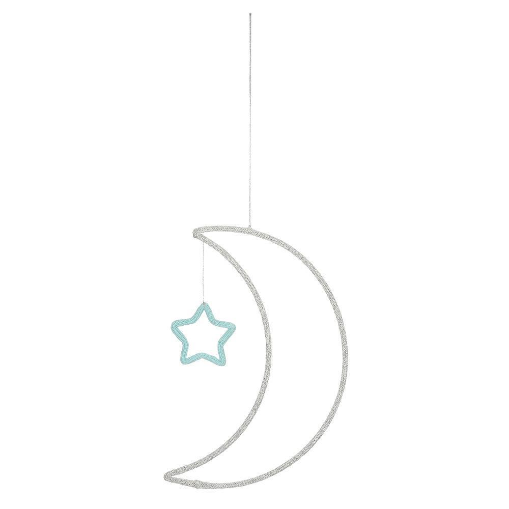 Moon + Star Wall Decoration