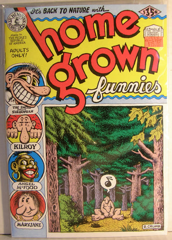 HOME GROWN FUNNIES  16TH PRINTING