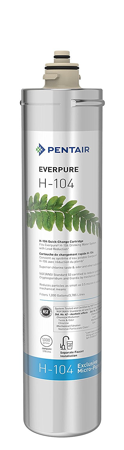 Everpure H-104 Water Filter Cartridge - Any Gallon Unit - hero-in coffee