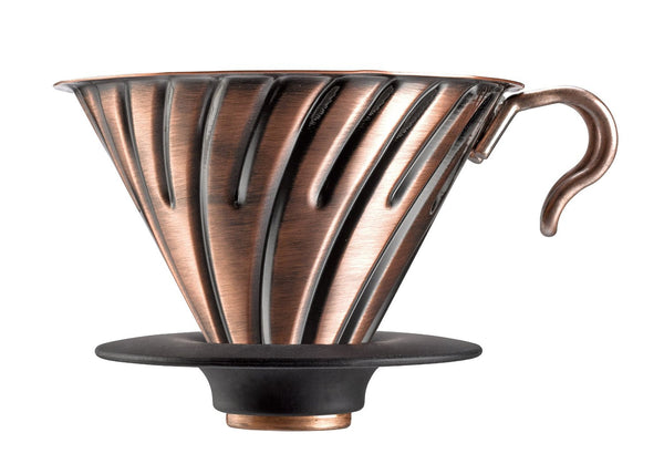 Hario Coffee Dripper Metal V60 02 Copper - hero-in coffee