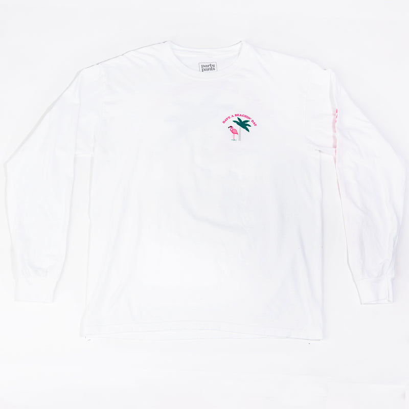 BEACHIN' LONG SLEEVE TEE