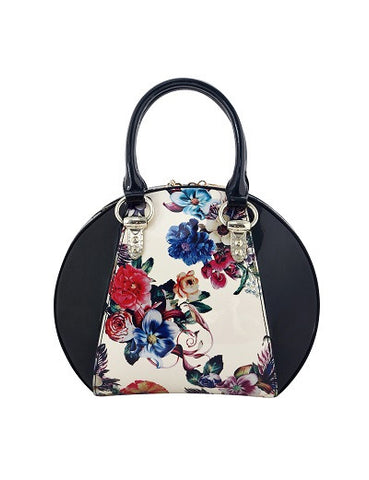 Spring Patent Leather Bowling Bag