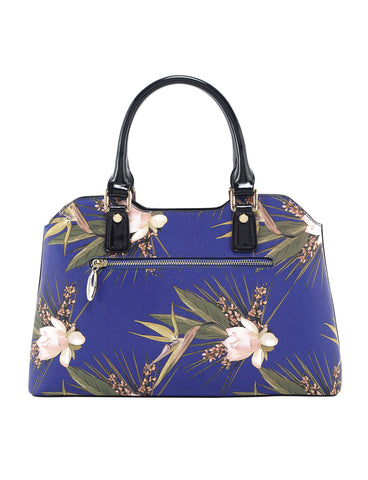 Blue Paradise Medium Leather handbag