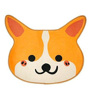 Cute Corgi Door and Bath Mat 26 x 21 x .25