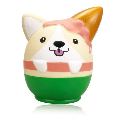 PURAMI Squishy Giant Corgi Dog