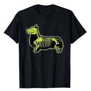 Corgi Skeleton T shirt