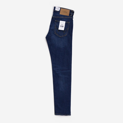 EDWIN ED-80 CS Red Listed Selvage Denim Blast Wash