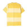 Norse Projects Johannes Block Stripe Tee Yellow Sunwashed