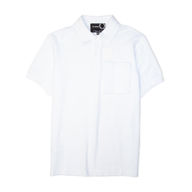 Fred Perry x Raf Simons Space Pocket Pique Shirt White