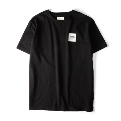 Wood Wood Box T-shirt Black