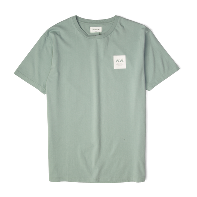 Wood Wood Box T-shirt Mint