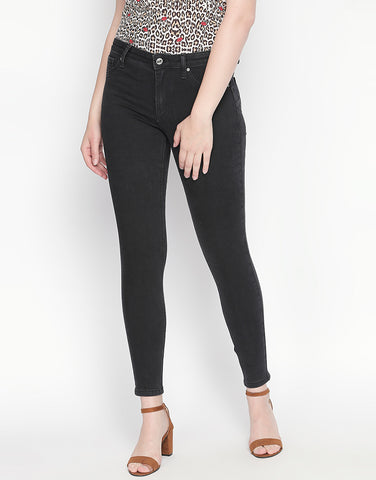 Montreal Black Pushup Jeans