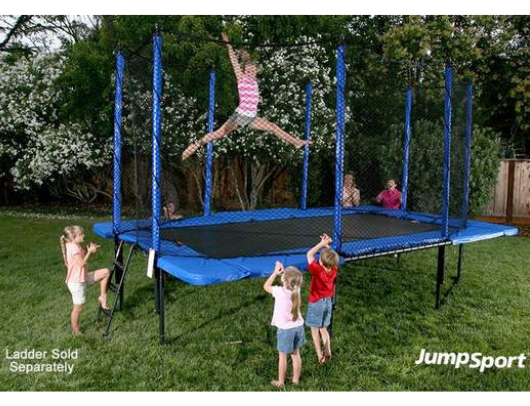 10' x 17' StagedBounce Rectangle Trampoline