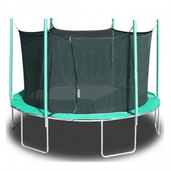 Image of Magic Circle 13.5' Round Trampoline With Safety Enclosure