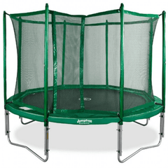Image of JumpFree 12' Round Trampoline and Safety Enclosure