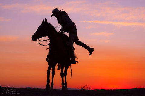 Cowboy at Sunset Collection 1 - Alton Vance