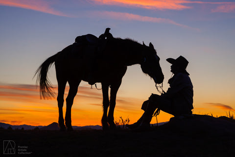 Cowboy at Sunset Collection 2 - Alton Vance