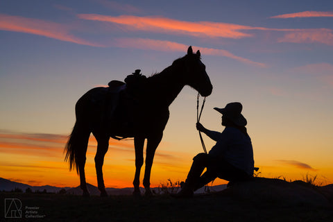 Cowboy at Sunset Collection 3 - Alton Vance