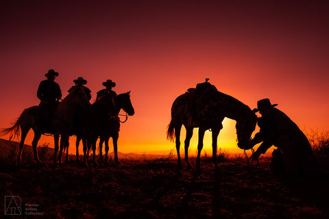 Cowboy at Sunset Collection 8 - Alton Vance