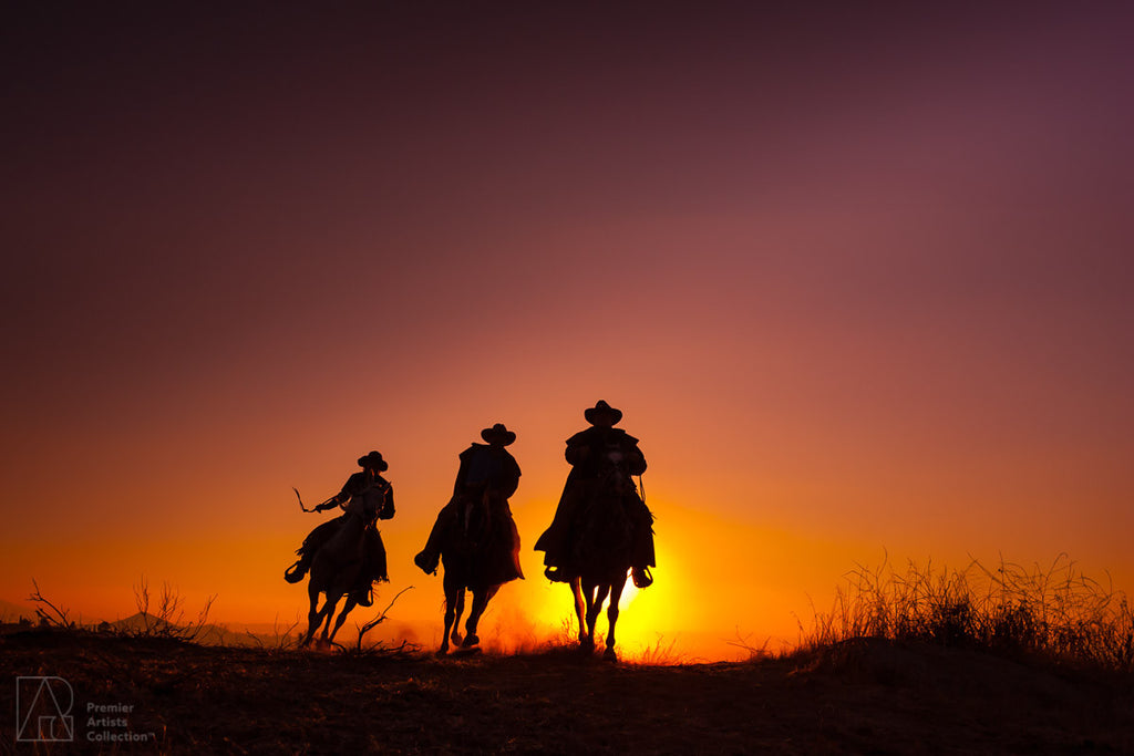 Cowboy at Sunset Collection 12 - Alton Vance
